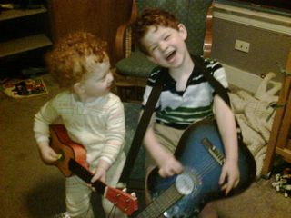 Boys and guitars
